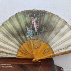 Antigüedades: ABANICO DE FINALES DEL XIX. Lote 221873977