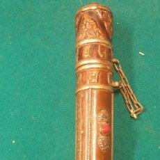 Antigüedades: ANTIGUO CARTUCHO PARA CORREO (INDIA). Lote 221884586