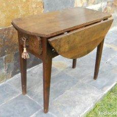 Antigüedades: ANTIGUA MESA DE ALAS SIGLO XVIII. Lote 221889601