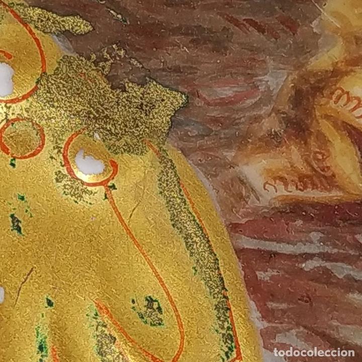 Antigüedades: PLATO. PORCELANA BELLAMENTE ESMALTADO. FIRMADO A DE LAGARDE. FRANCIA. SIGLO XIX - Foto 11 - 221892358