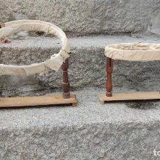 Antigüedades: BASTIDORES ANTIGUOS. Lote 221948808