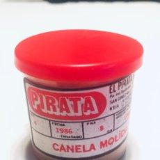 Antigüedades: TARRO DE CANELA MOLIDA EL PIRATA - AÑO 1986. Lote 221949831