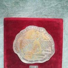 Antigüedades: PLACA AGRADECIMIENTO A LA CÁMARA OFICIAL SINDICAL AGRARIA DE LOGROÑO - III FERIA DEL CAMPO - 1956. Lote 221951817