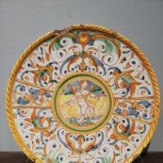 Antigüedades: SALVILLA EN CERÁMICA DE DERUTA S. XVII. Lote 221953116
