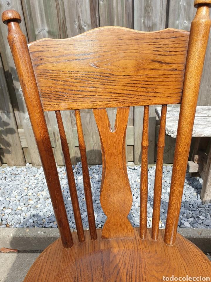 Antigüedades: (4) Sillas de Roble en perfecto estado, Holandesas - Foto 5 - 221953186