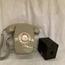 Antigüedades: LOTE TELEFONO Y CAMARA!ANTIGUAS!. Lote 221955417