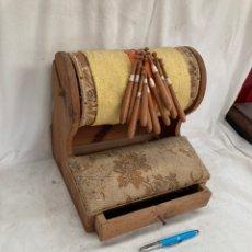 Antiquités: ANTIGUA MAQUINA DE BOLILLOS!. Lote 221960822