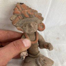Antiquités: ANTIGUO AMULETO DE BARRO COCIDO!. Lote 221962848