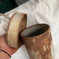 Antiquités: ANTIGUA HELADERA DE CHAPA!. Lote 221964063