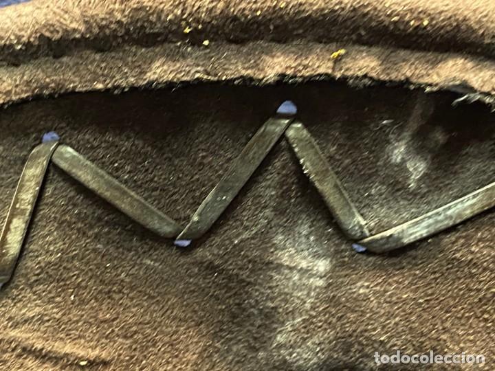 Antigüedades: SOMBRERO TIPO VAQUERO FIELTRO 15X35X37CMS - Foto 7 - 221998946