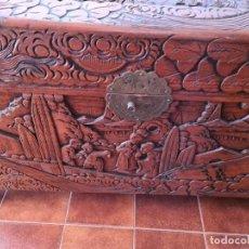 Antigüedades: BAÚL ANTIGUO PROCEDENTE DE CHINA.. Lote 222034275