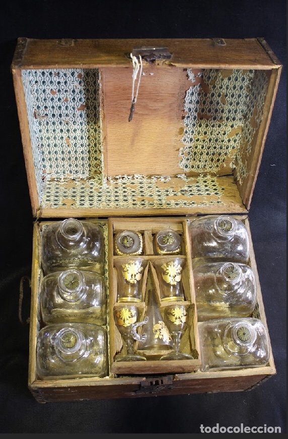Antigüedades: Caja para analiza de alcohol - Foto 2 - 196800425