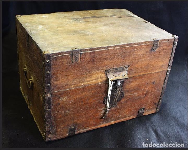 Antigüedades: Caja para analiza de alcohol - Foto 3 - 196800425