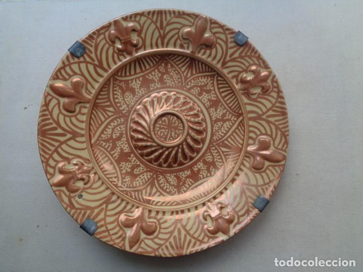 Antigüedades: OCHO PLATOS MANISES SIGLO XIX( RECOGER EN TIENDA) - Foto 16 - 222053752