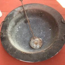 Antigüedades: ANTIGUO BRACERO DE METAL,CON O SIN ALAMBRERA. Lote 222069531