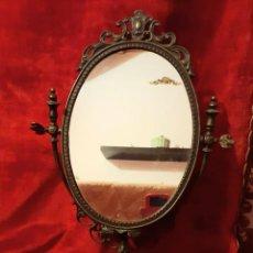 Antigüedades: PRECIOSO ESPEJO DE TOCADOR ~ BEAUTIFUL DRESSING MIRROR. Lote 222072725