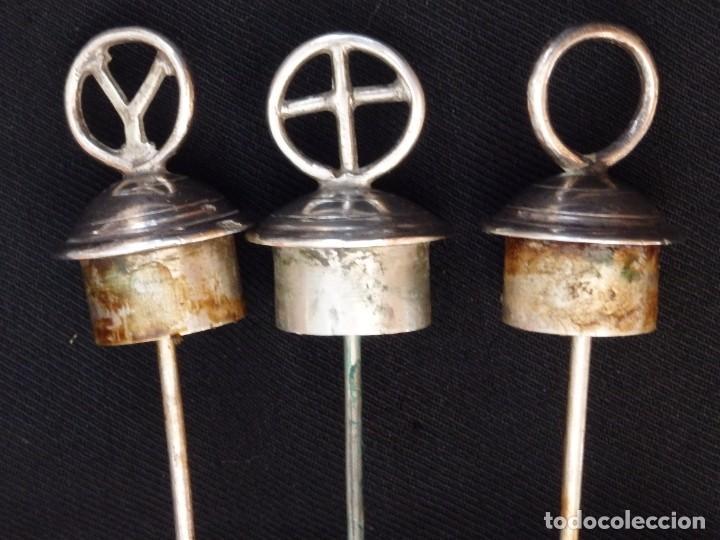 Antigüedades: Santos óleos elaborados en plata. Siglo XVIII. - Foto 20 - 222081780