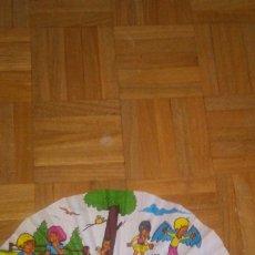 Antigüedades: ABANICO INFANTIL AÑOS 60.. Lote 222089267