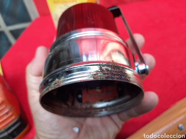 Antigüedades: Antigua linterna de emergencia - Foto 8 - 222097360