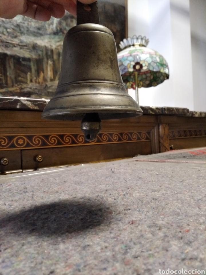 Antigüedades: Campana de bronce y hierro - Foto 3 - 222106515