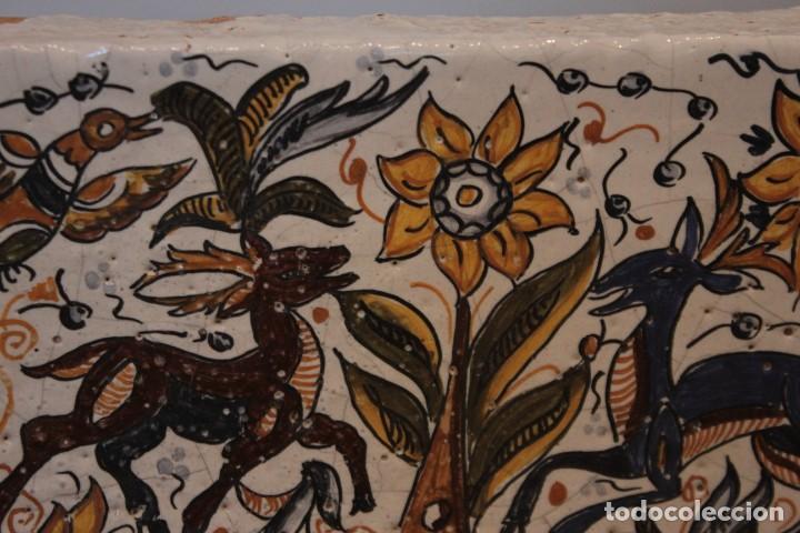 Antigüedades: Importante pieza de barro de Hermanos Escobar, firmada, Puente del Arzobispo. 28x14cm, pieza unica. - Foto 5 - 222117757