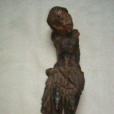 Antigüedades: CRISTO DE MADERA. Lote 222122448