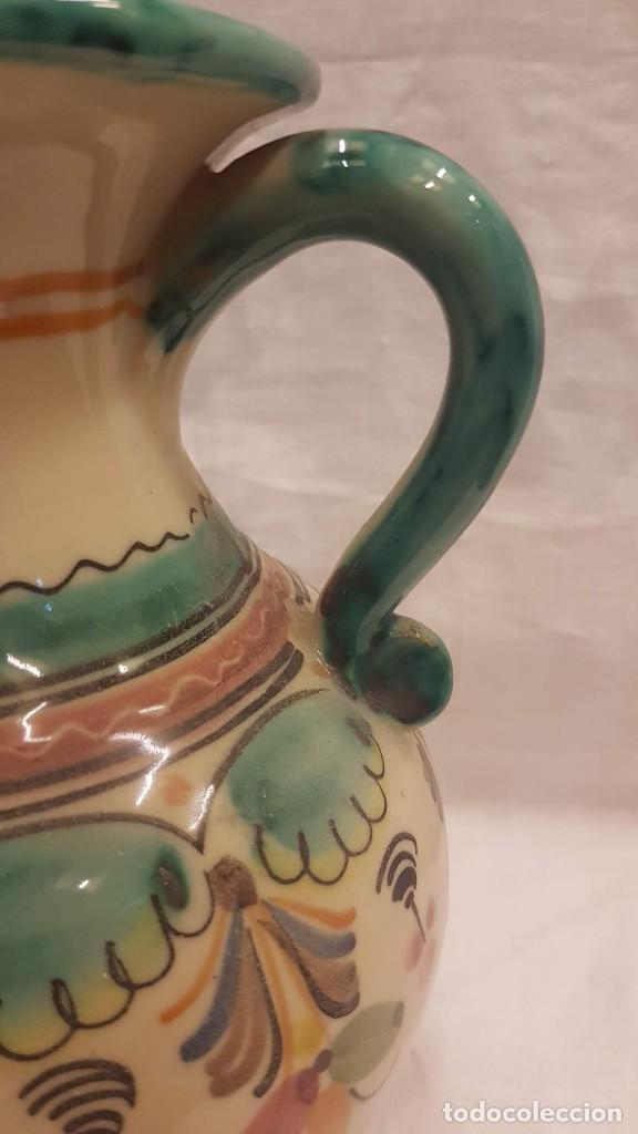 Antigüedades: JARRA CON ASAS ,ALTURA 24,5 CMTS - Foto 6 - 222122555