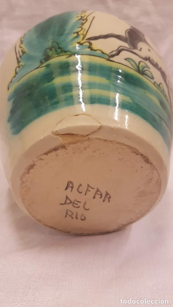 Antigüedades: BOUL CON TAPA ALFAR DEL RIO ALTURA 20 CMTS - Foto 12 - 222124057