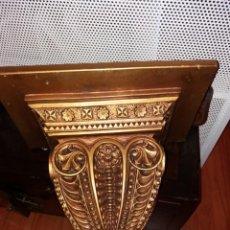 Antigüedades: MENSULA PEANA DORADA. Lote 222130096