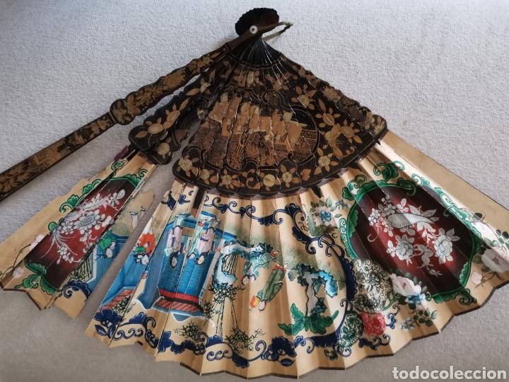 Antigüedades: Colección de abanicos - Foto 2 - 222132547