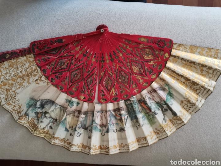 Antigüedades: Colección de abanicos - Foto 10 - 222132547