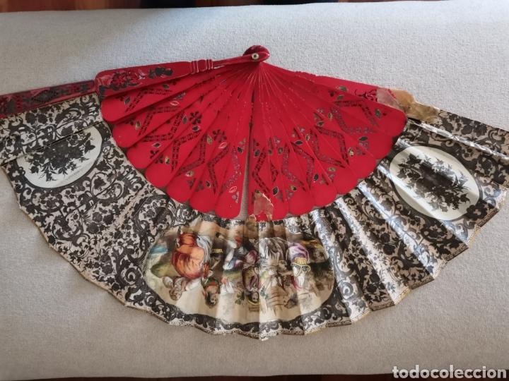 Antigüedades: Colección de abanicos - Foto 11 - 222132547