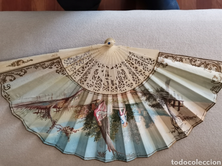 Antigüedades: Colección de abanicos - Foto 12 - 222132547