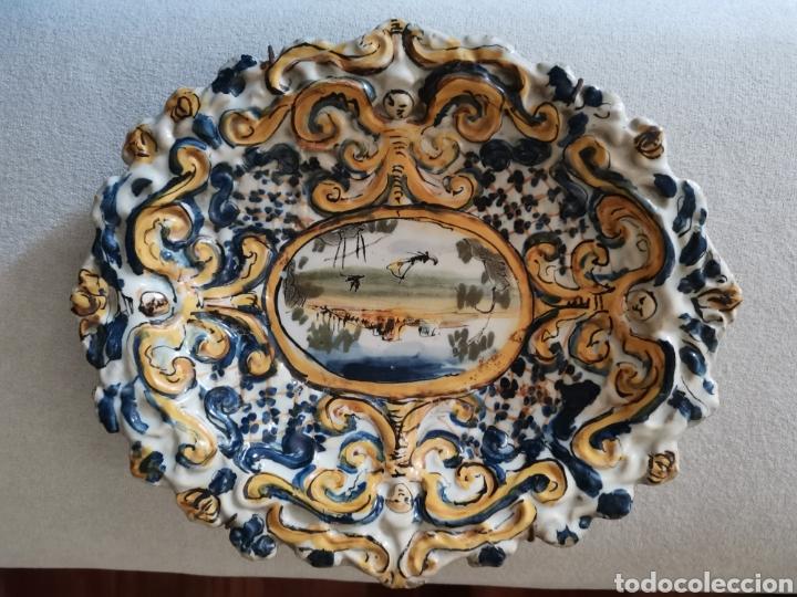 PLATO ITALIANO XVII (Antigüedades - Porcelanas y Cerámicas - Otras)