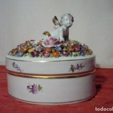 Antigüedades: CAJA DE PORCELANA. Lote 222154197