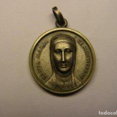 Antigüedades: ANTIGUA MEDALLA RELIGIOSA DE LA VIRGEN DE MONTSERRAT. Nº 306. Lote 222161330