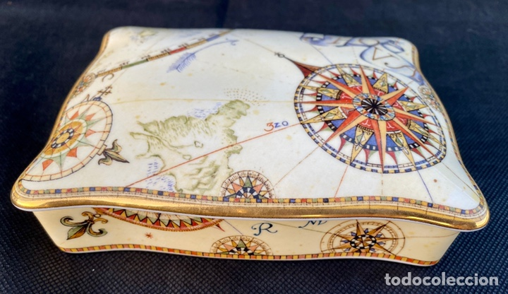Antigüedades: WEDGWOOD. Cajita de bajaras de póker Wedgwood - Foto 3 - 222178967