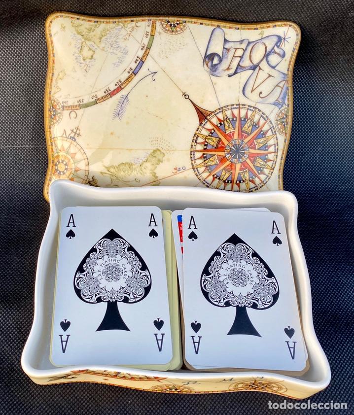 Antigüedades: WEDGWOOD. Cajita de bajaras de póker Wedgwood - Foto 4 - 222178967