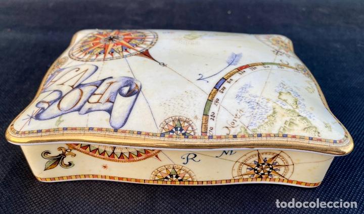 Antigüedades: WEDGWOOD. Cajita de bajaras de póker Wedgwood - Foto 10 - 222178967