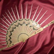 Antigüedades: MAGNIFICO VARILLAJE 1840-1860S EN MARFIL Ò HUESO. Lote 222204048