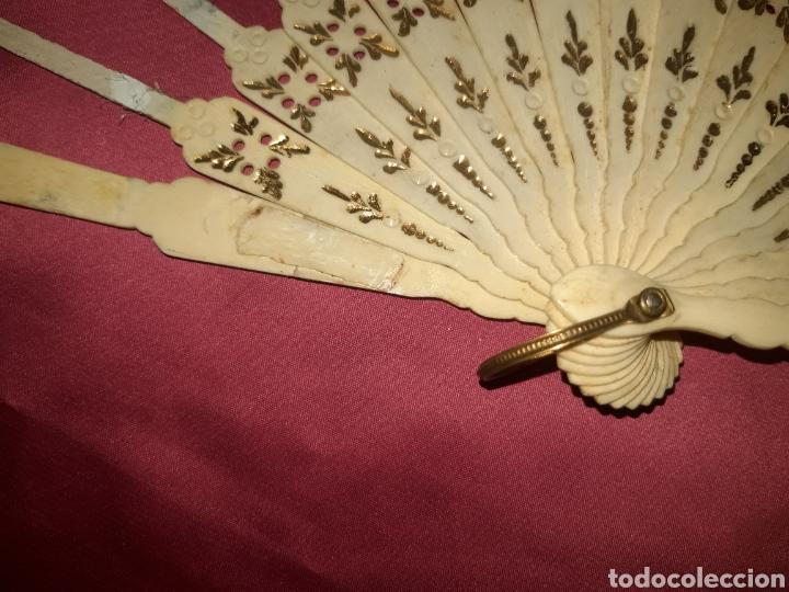 Antigüedades: PRECIOSO VARILLAJE EN HUESO 1890-1900s - Foto 10 - 222214408