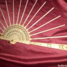 Antigüedades: PRECIOSO VARILLAJE EN HUESO 1890-1900S. Lote 222214408