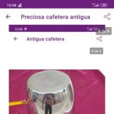 Antigüedades: INCREÍBLE CAFÉTERA ANTIGUA. Lote 222226991