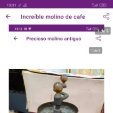 Antigüedades: GRAN MOLINO ANTIGUO. Lote 222230136