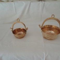 Antigüedades: CUENCOS DE BRONCE. Lote 222235238