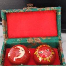 Antigüedades: ESFERAS CHINAS DE LA SALUD ( LAS BOLAS DE LA SALUD ). Lote 222242680