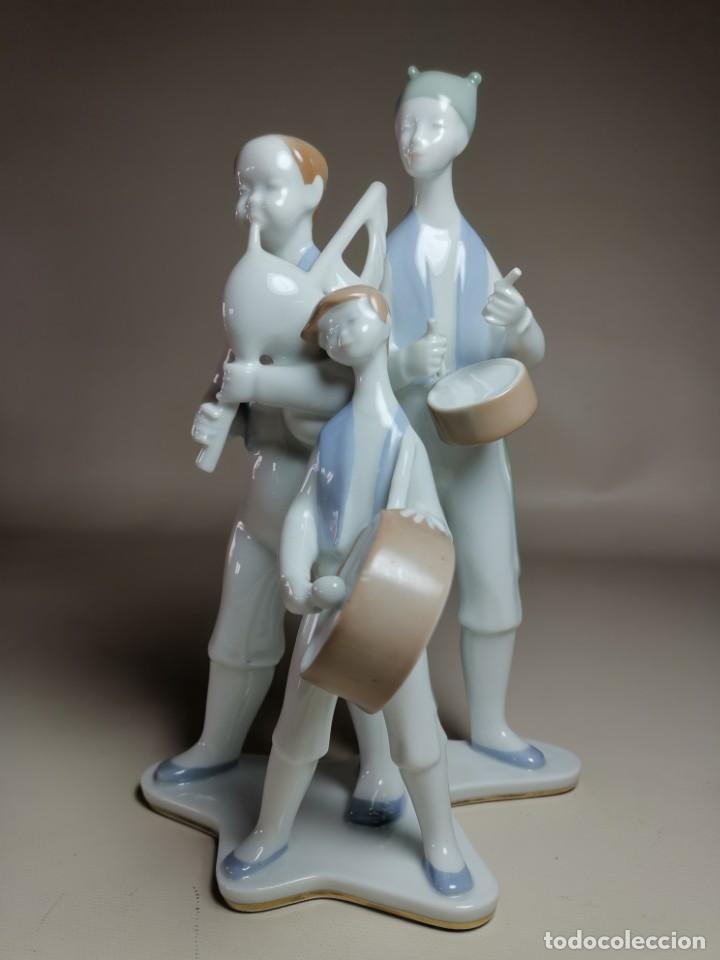 Antigüedades: FIGURA MUSICOS GAITEROS DE MOISES ALVAREZ-GALICIA - Foto 5 - 222246940