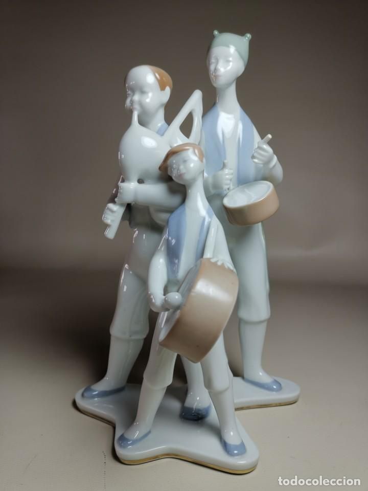 Antigüedades: FIGURA MUSICOS GAITEROS DE MOISES ALVAREZ-GALICIA - Foto 6 - 222246940