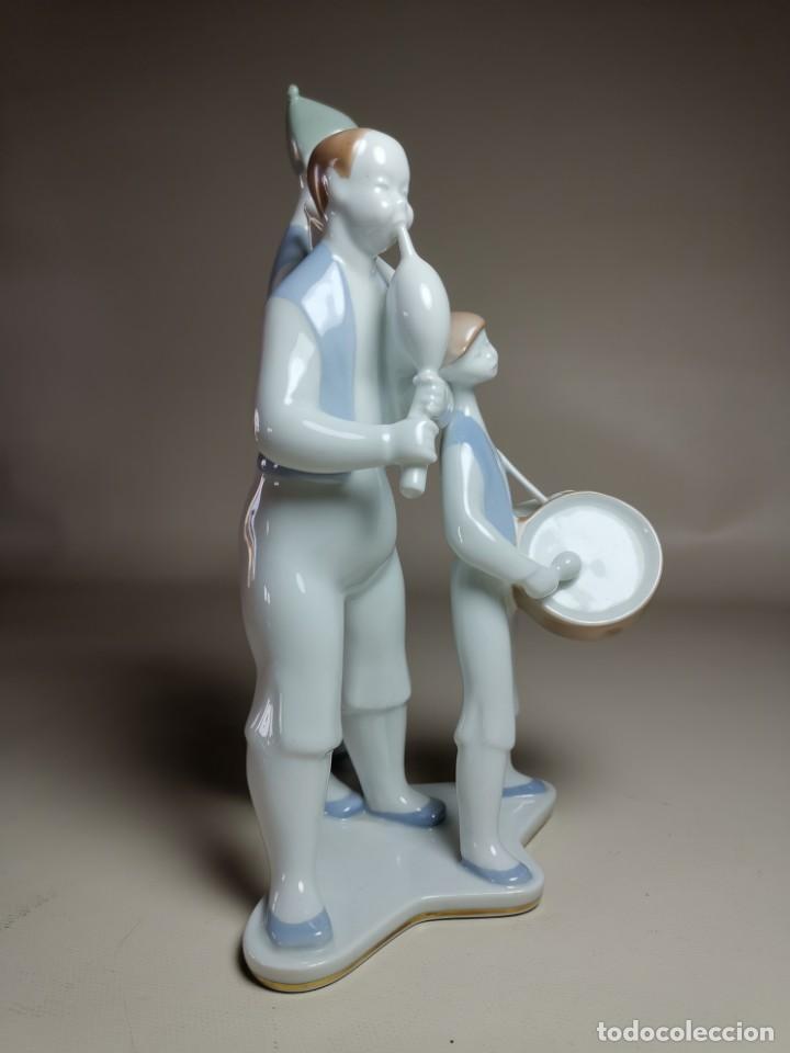 Antigüedades: FIGURA MUSICOS GAITEROS DE MOISES ALVAREZ-GALICIA - Foto 12 - 222246940