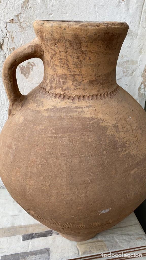 Antigüedades: CANTARO ANTIGUO EXTRAORDINARIO DE OROZCO DE VILLARROBLEDO DE 49 CMS. DE ALTURA MUY ROBUSTO - Foto 5 - 222258402